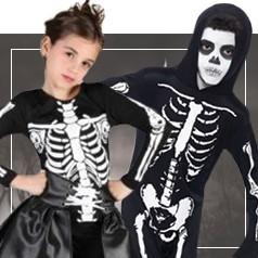 Disfraces de Esqueletos Infantiles