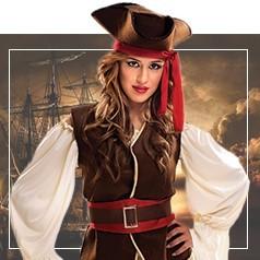 Disfraces de Pirata para Mujer