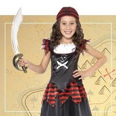 Disfraces de Pirata para Niña