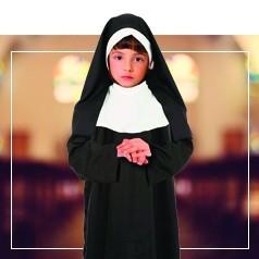 Disfraces de Monja para Niña