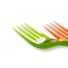 Tenedores de Plástico