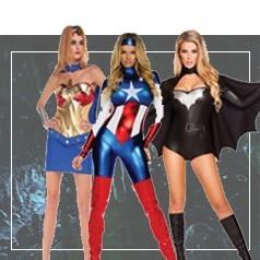 Disfraces de Superheroes para Mujer
