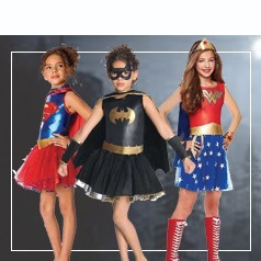 Disfraces de Superheroes para Niña