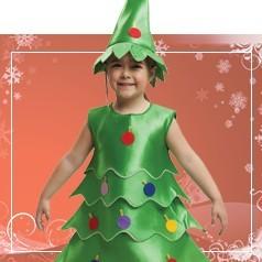 Disfraces de Navidad para Niña