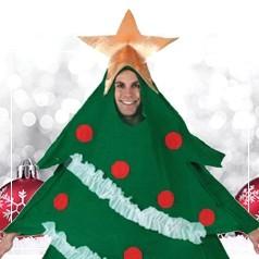 Disfraces de Árbol de Navidad para Adulto