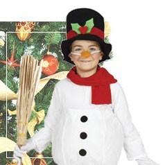 Disfraces de Muñeco de Nieve Infantil