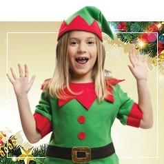 Disfraces de Elfo para Niña