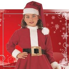 Disfraces de Mama Noel para Niña