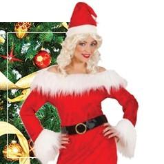 Disfraces de Mama Noel para Mujer