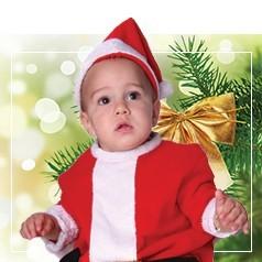 Disfraces de Papa Noel para Bebé