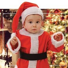 Disfraces de Papa Noel Infantiles