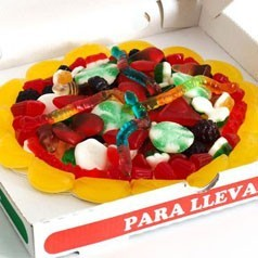 Pizza de Chuches