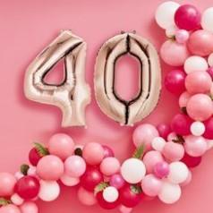Globos 40 Cumpleaños