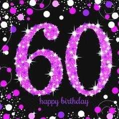 Cumpleaños 60 años Mujer