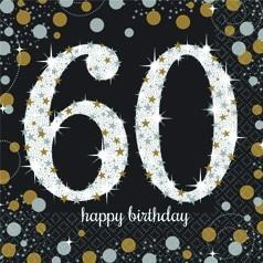 Cumpleaños 60 años Hombre
