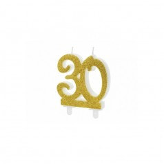 Velas 30 Cumpleaños
