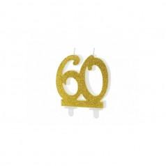 Velas 60 Cumpleaños