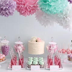Mesas Dulces Baby Shower