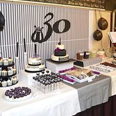Decoracin ideas y adornos de mesas dulces para fiestas FiestasMix