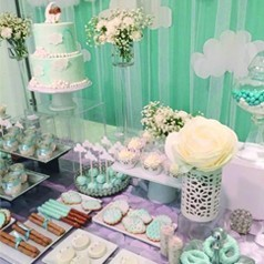 Candy Bar Baby Shower Niño