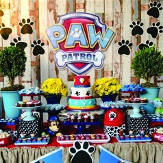 Candy Bar Patrulla Canina