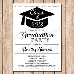 Invitaciones Graduación