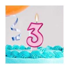Cumpleaños 3 Años Niña