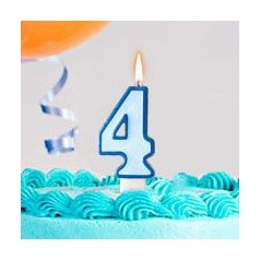 Cumpleaños 4 Años Niño