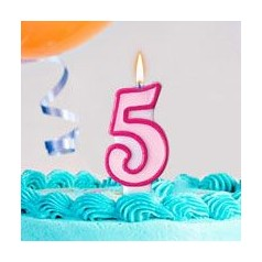 Cumpleaños 5 Años Niña