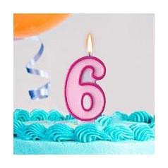 Cumpleaños 6 Años Niña