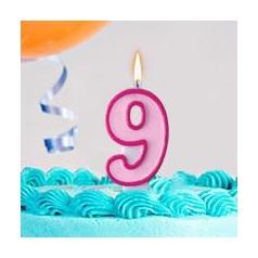 Cumpleaños 9 Años Niña