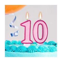 Cumpleaños 10 Años Niña
