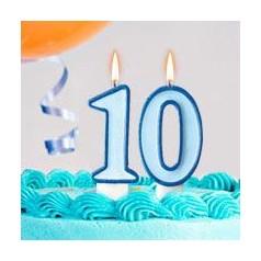 Cumpleaños 10 Años Niño