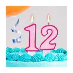 Cumpleaños 12 Años Niña