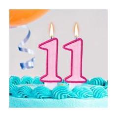Cumpleaños 11 Años Niña