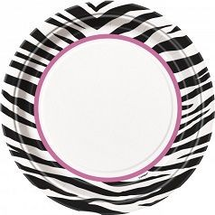 Cumpleaños Pink Zebra