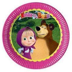 Cumpleaños Masha y el Oso