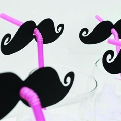 Decoración Mustache
