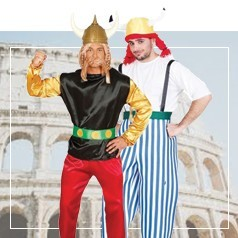 Disfraces de Asterix y Obelix