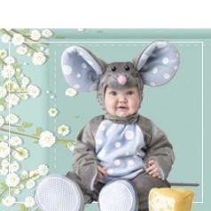 Disfraces de Ratoncito Bebé