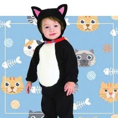 Disfraces de Gatos Bebé