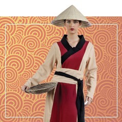 Disfraces de China para Mujer