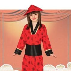 Disfraces de China Niña