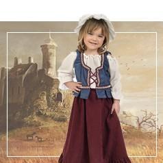 Disfraces de Medieval Niña