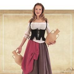 Disfraces de Medieval Mujer