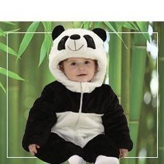 Disfraces de Oso Panda Bebé