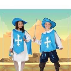 Disfraces de Mosquetero Infantiles