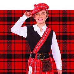 Disfraces de Escocés Infantiles