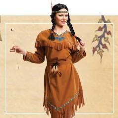 Disfraces de India para Mujer