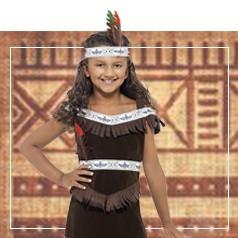 Disfraces de India para Niña